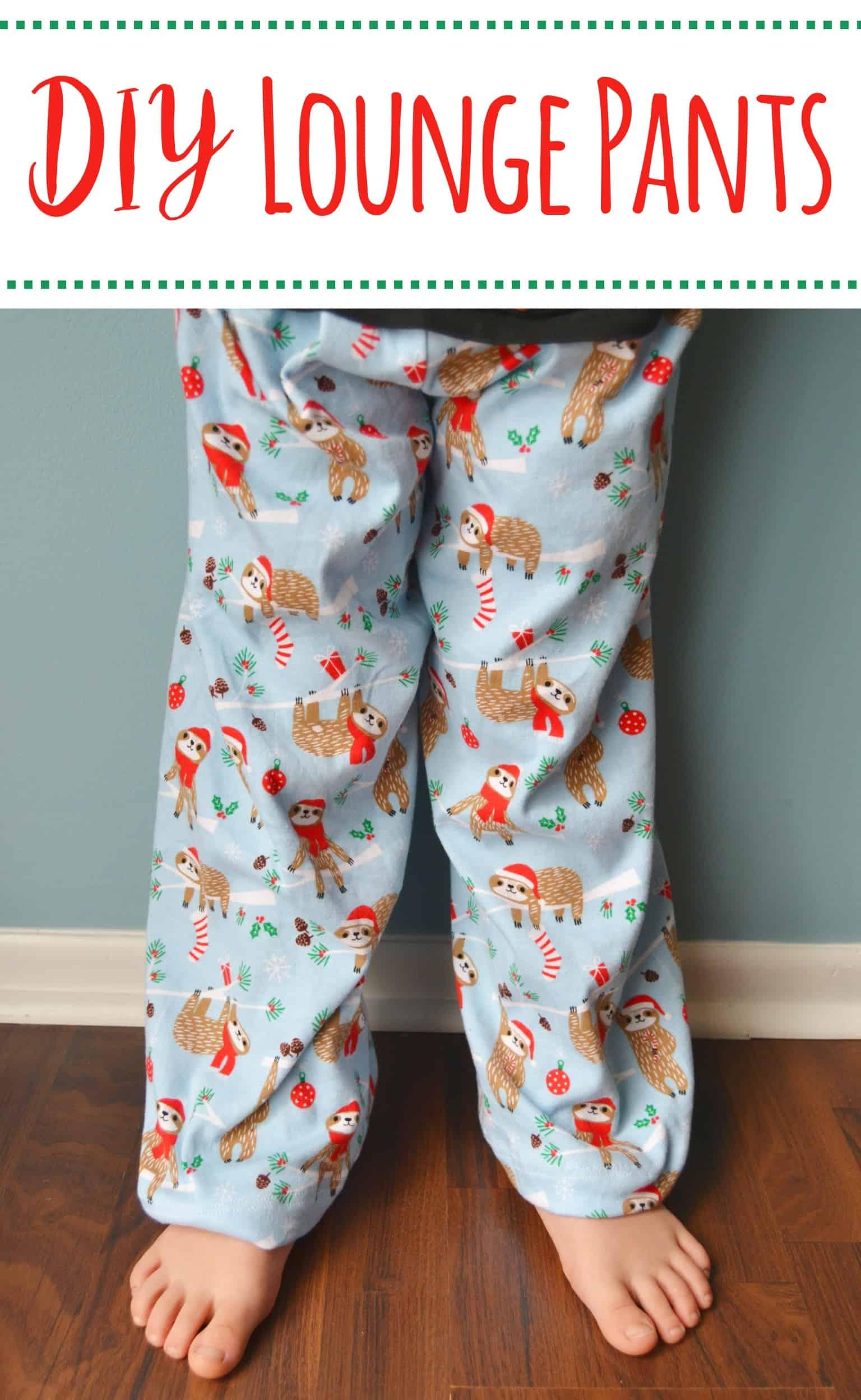 Easy DIY Pajama Pants – Mary Martha Mama
