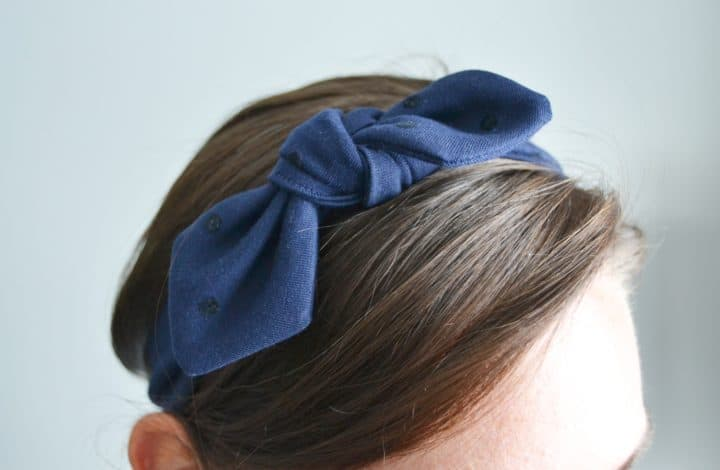 How to Sew a Knotted Headband