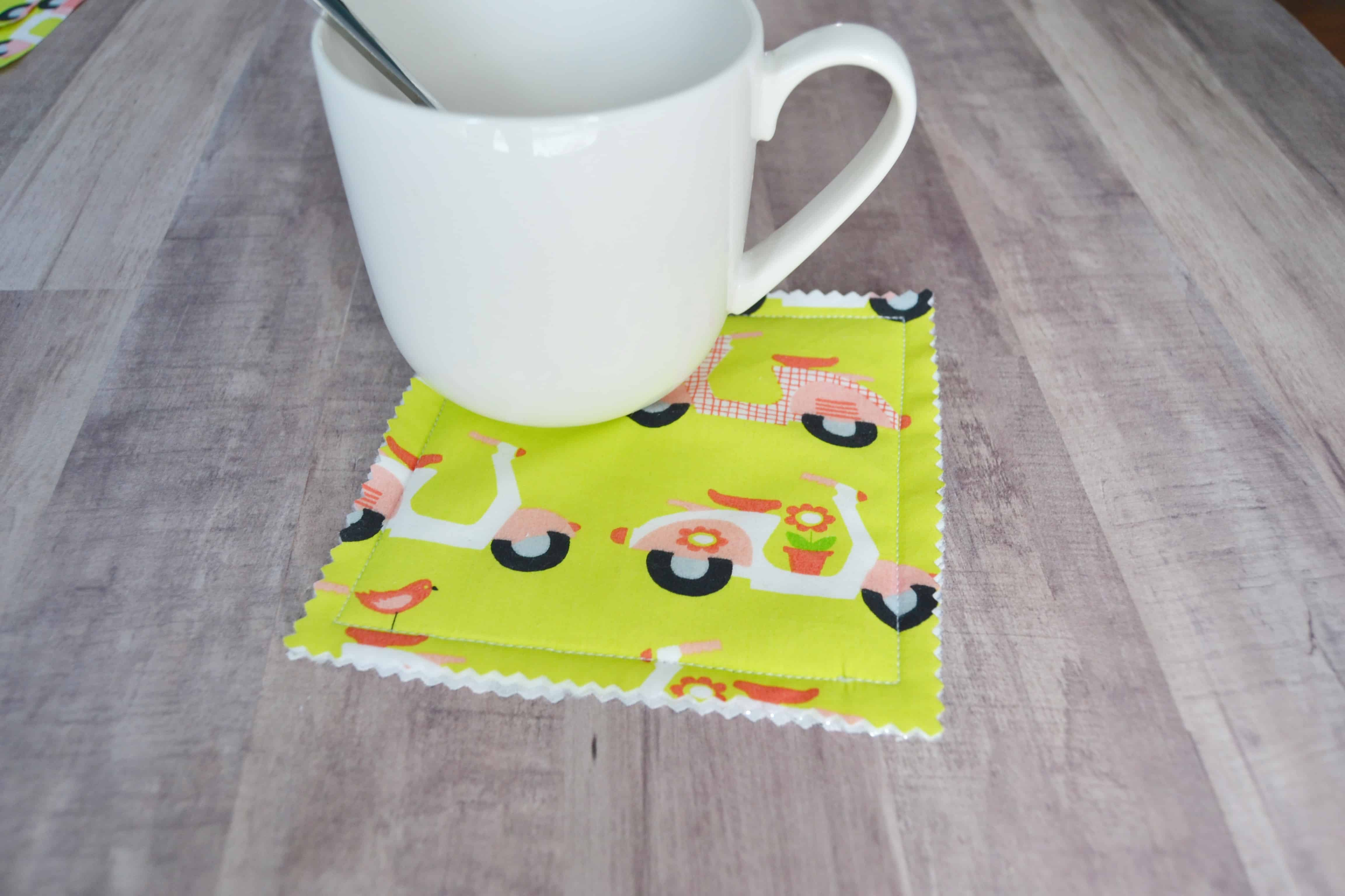 10 Minute Mug Rugs Coasters Mary Martha Mama