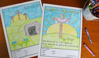 Awesome Easter Pictures To Color