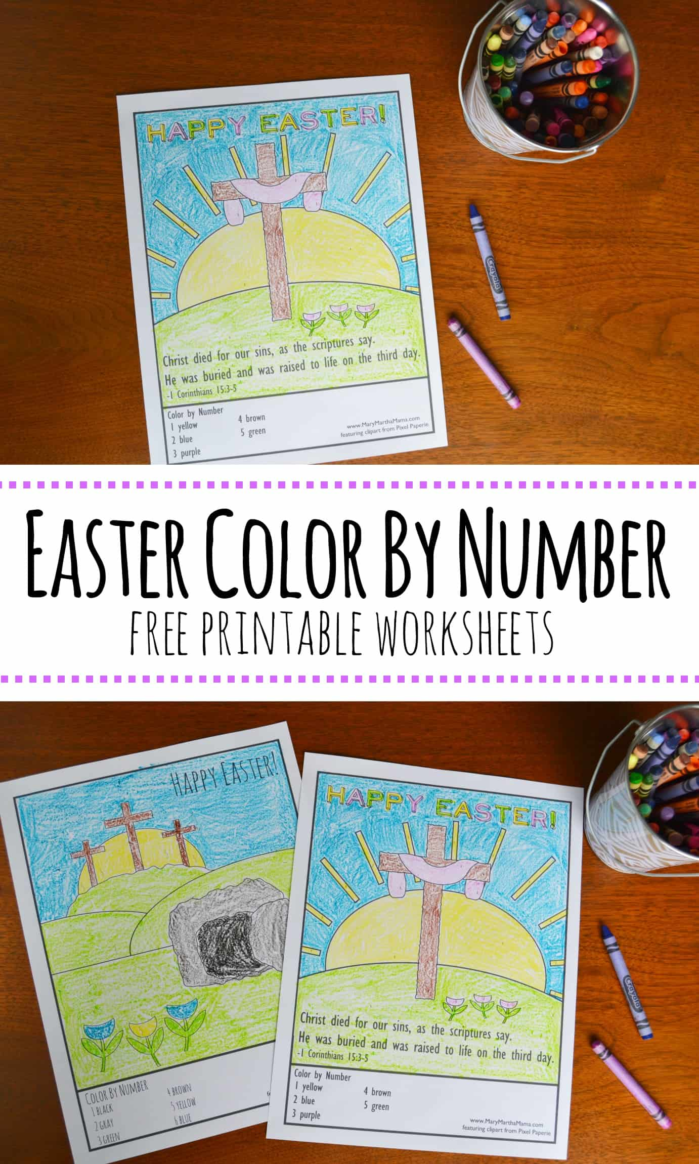 Easter pictures to color