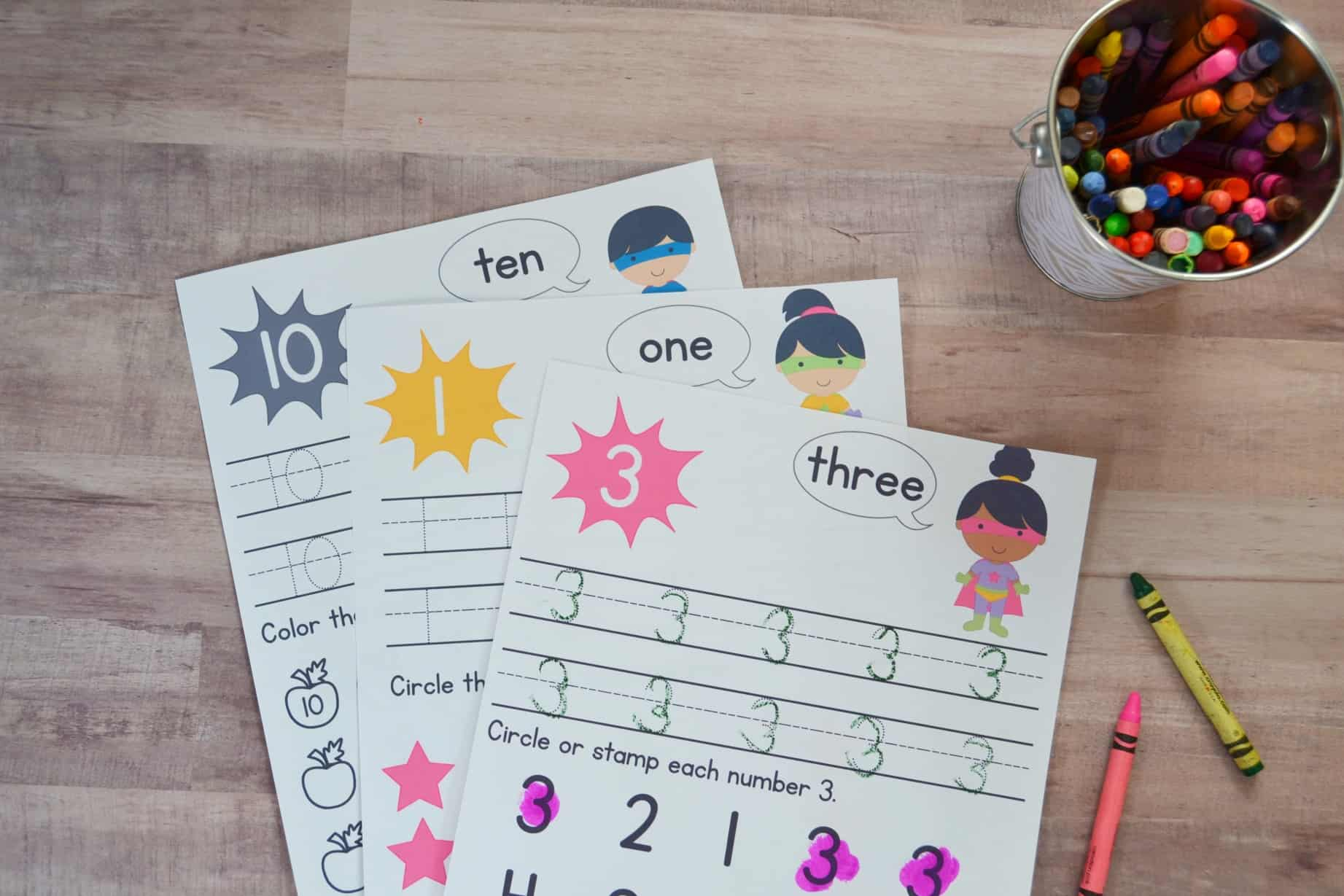 super-hero-number-worksheet-1 Worksheet On Clothes We on esl class, printable spanish, riddles puzzles about,