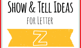 show and tell letter z Archives – Mary Martha Mama