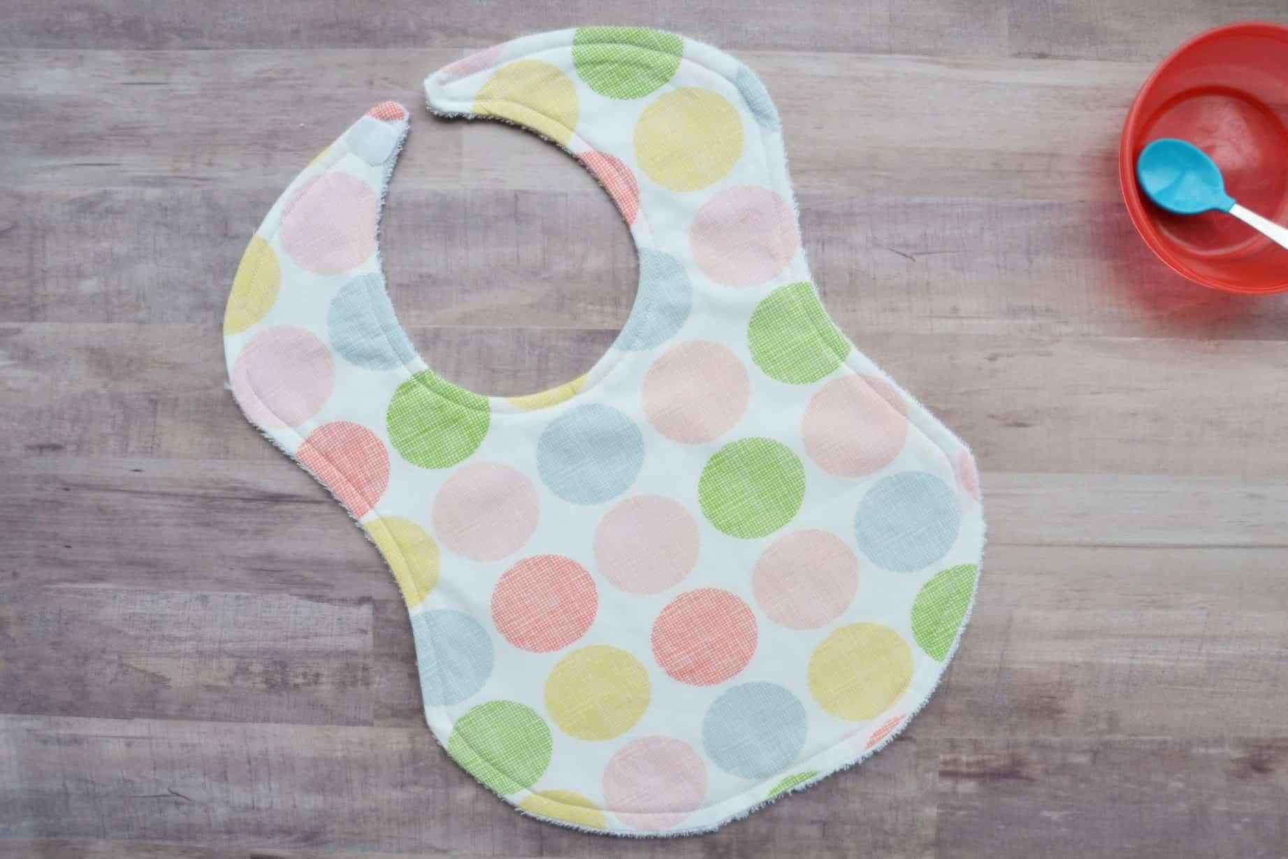 toddler bib pattern