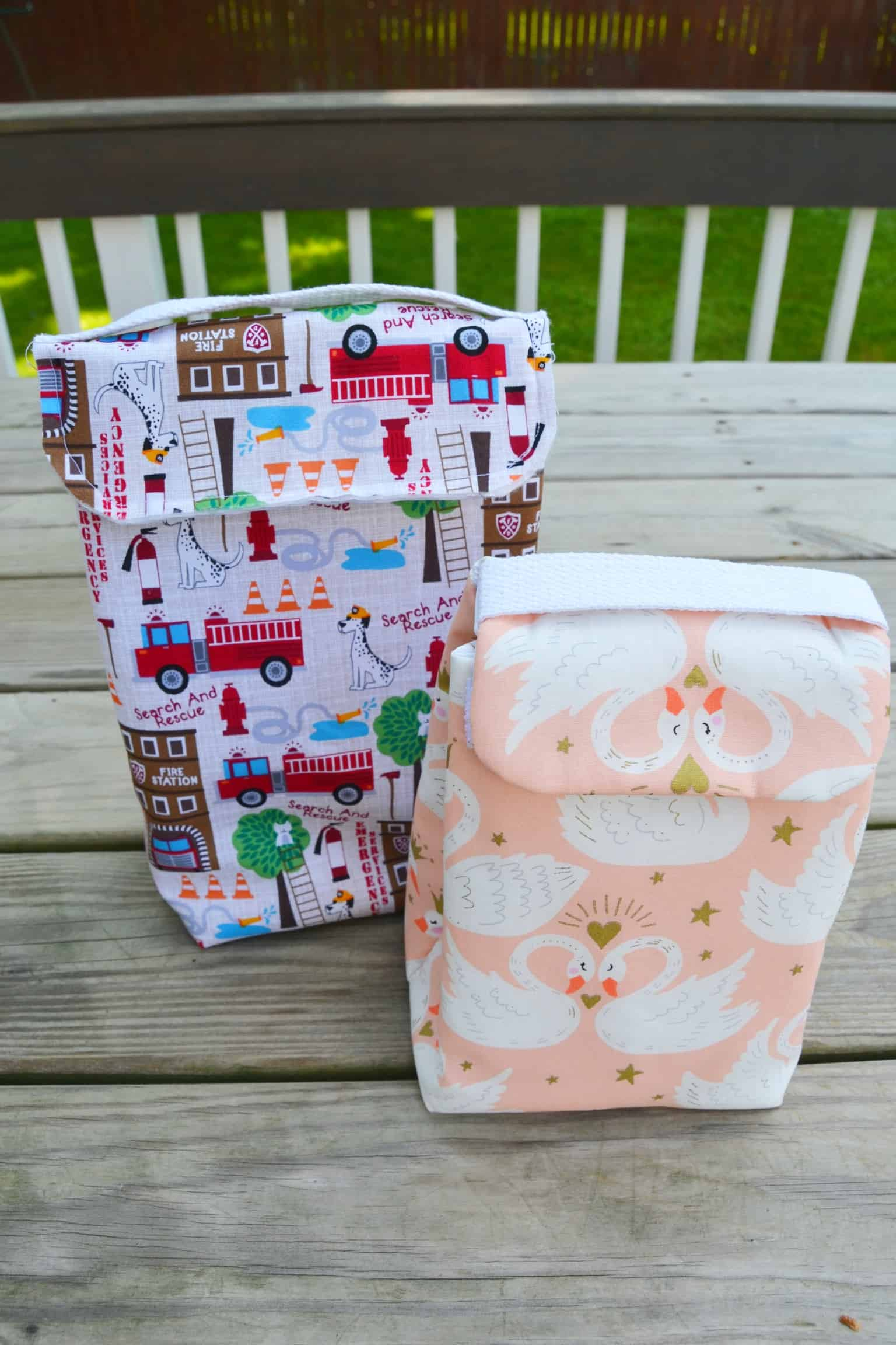 Sewing Tutorial Sew A Fabric Lunch Bag Sewing