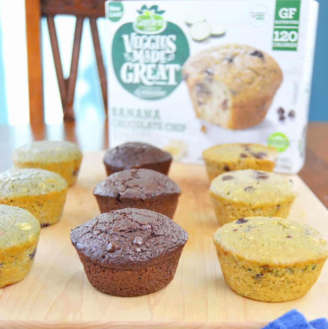 Have some more veggies with garden lites muffins mary - Garden lites blueberry oat muffins ...