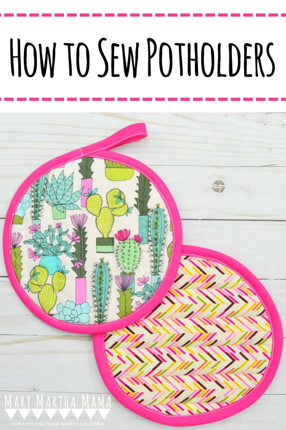 How to Sew Potholders in 8 Easy Steps