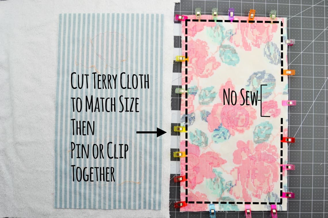 How to Sew Burp Cloths with Appliques – Mary Martha Mama