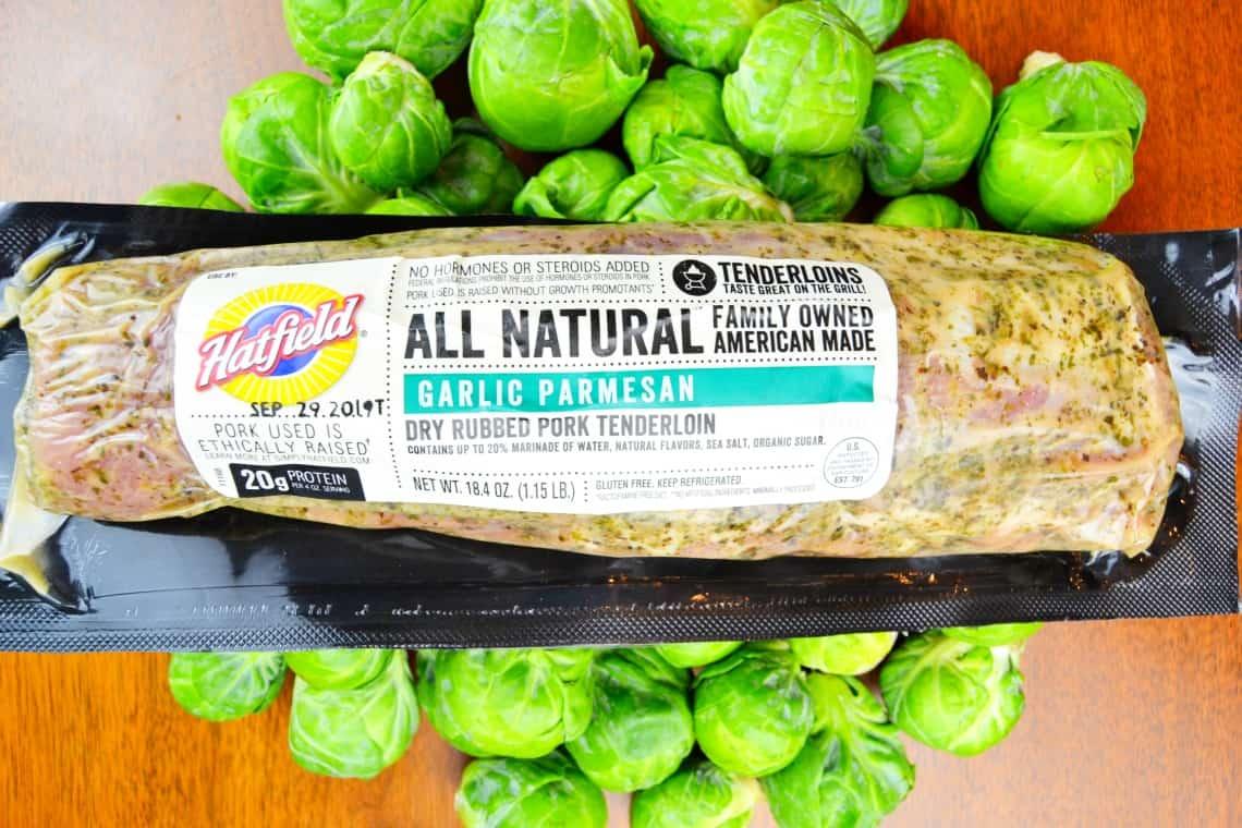 Hatfield Garlic Parmesan pork tenderloin
