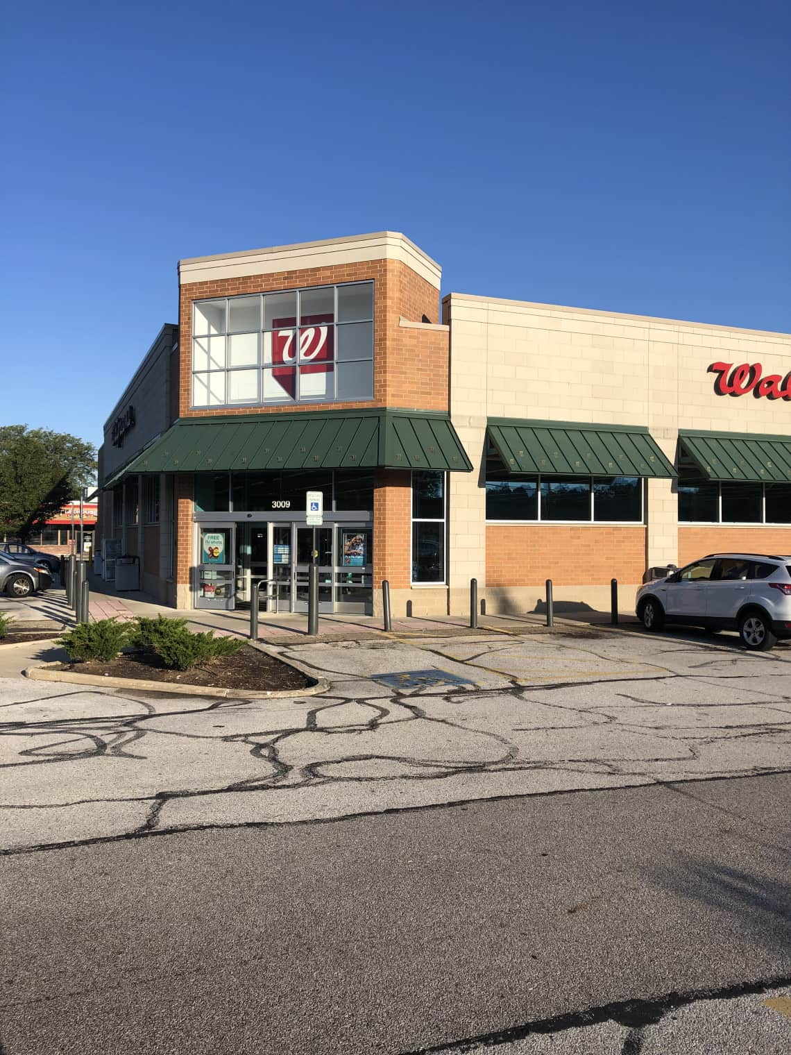 the outside of a Walgreens store