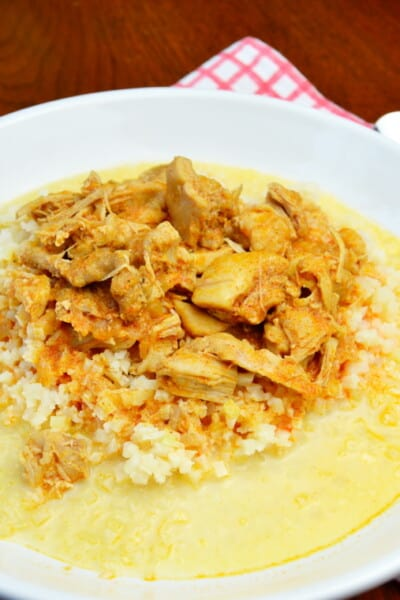 Keto Chicken Paprikash