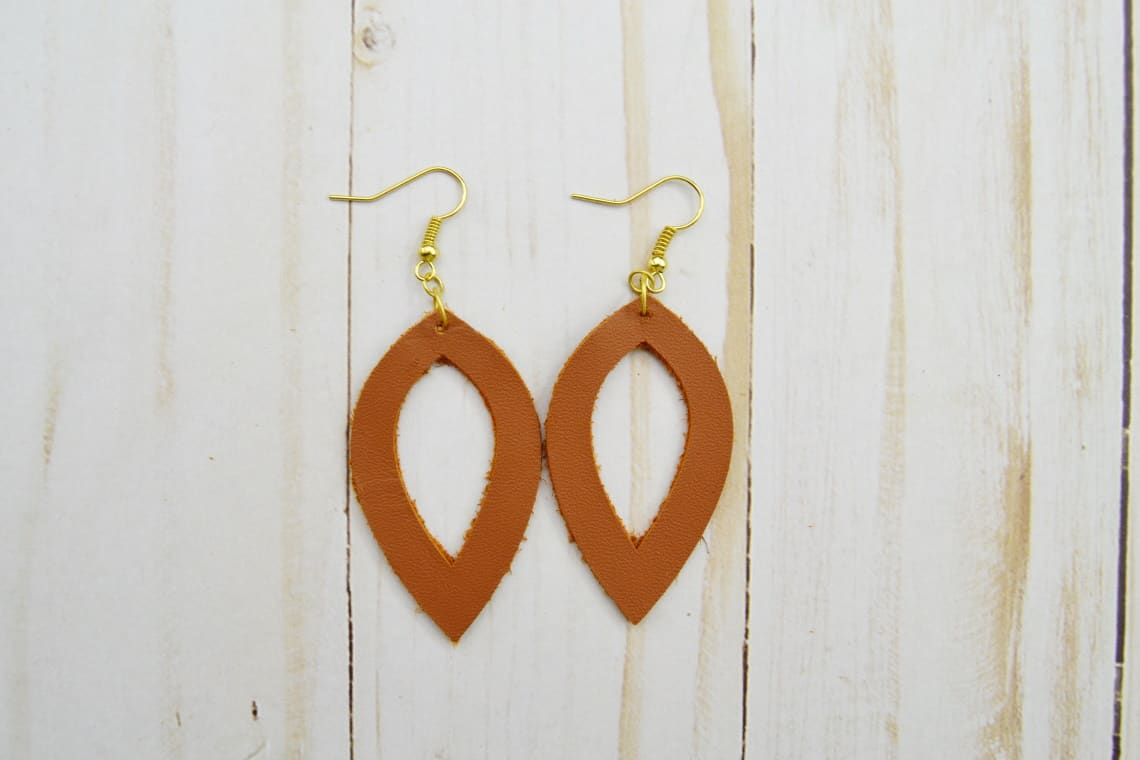 one of the pairs of earrings