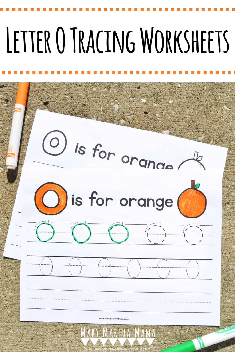 Use these free printable Letter O Tracing Worksheets to help your kiddo learn proper letter formation for upper and lower case O.