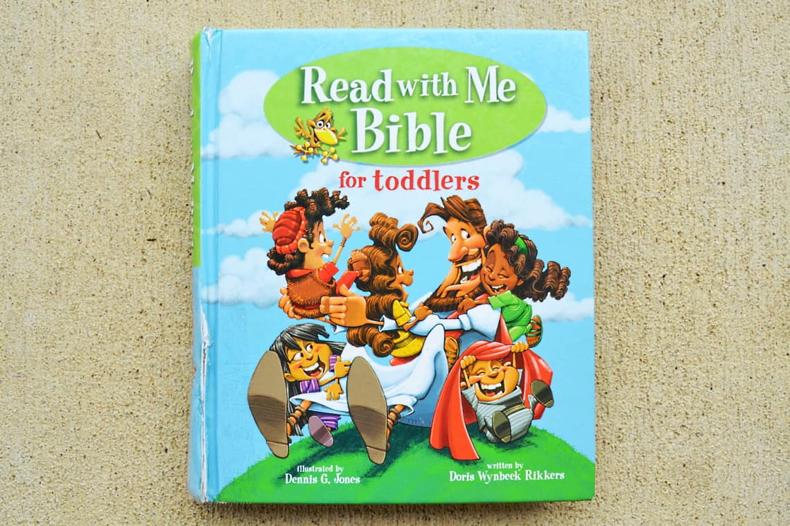 Bibles for Preschoolers: read with me Bible for toddlers