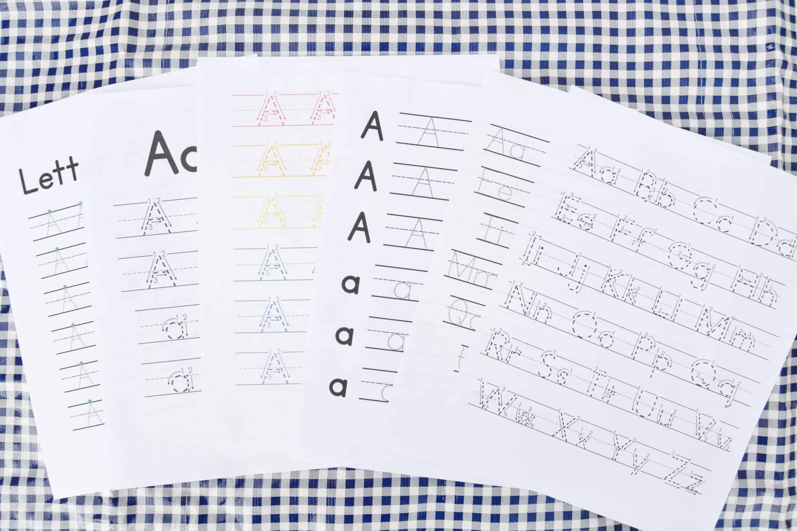 the big handwriting worksheet bundle