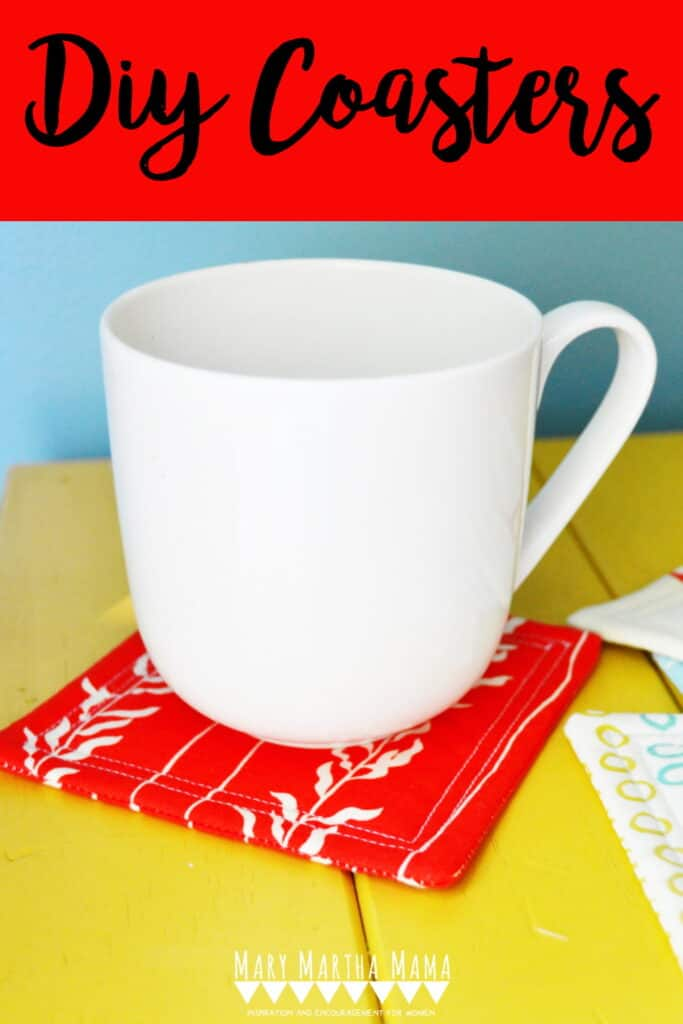 Sewing coasters is super easy if you follow this tutorial for how to sew coasters the easy way. This makes a great scrapbusting project.