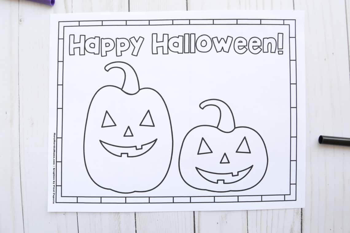 Free Printable Halloween Coloring Pages: Jack-o'-lanterns