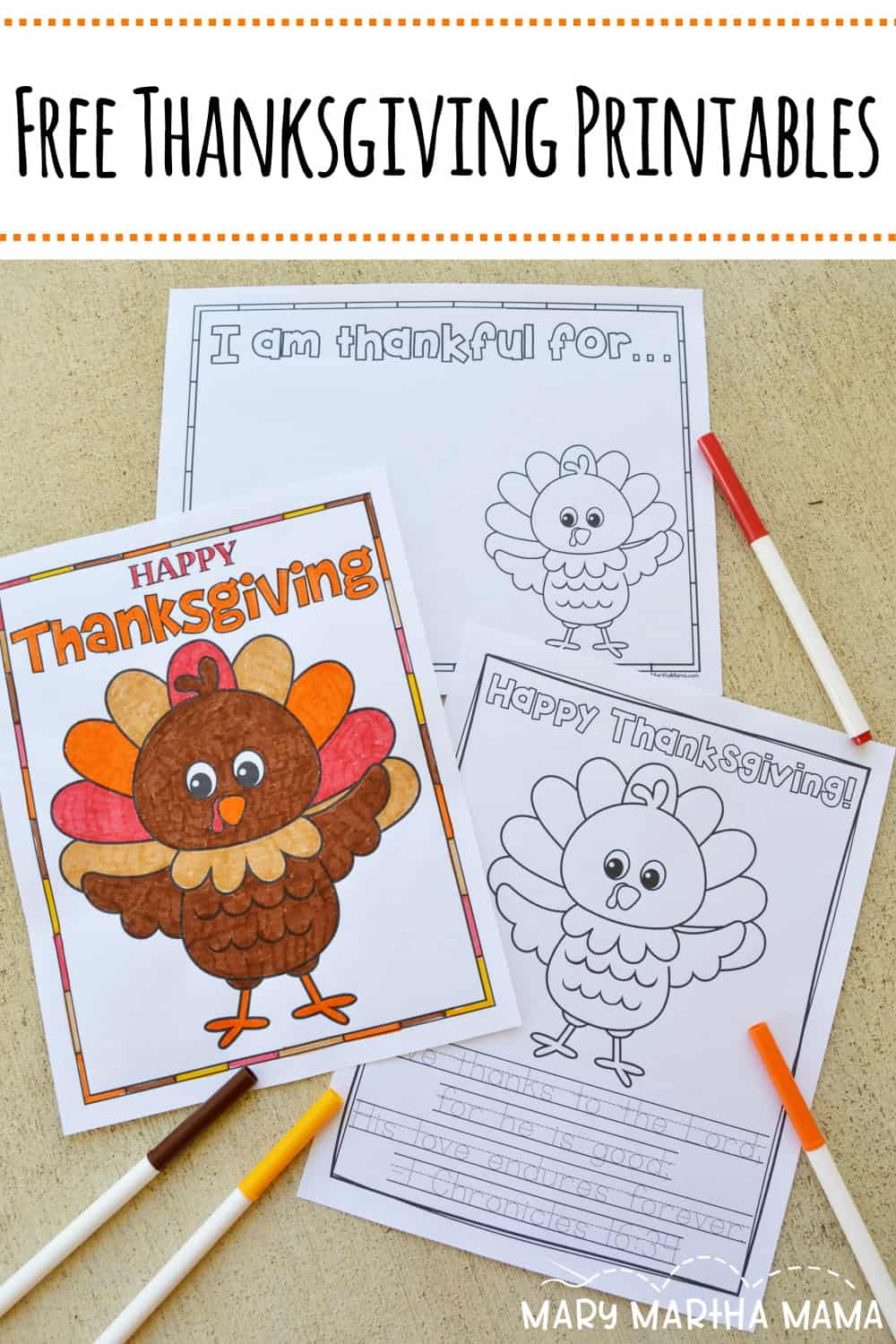 Looking for some fun? Check out these free Thanksgiving printables for kids.  There's coloring and sheets to list what we are thankful for.