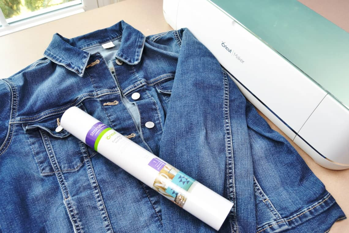 supplies to make your own personalized wedding jean jacket