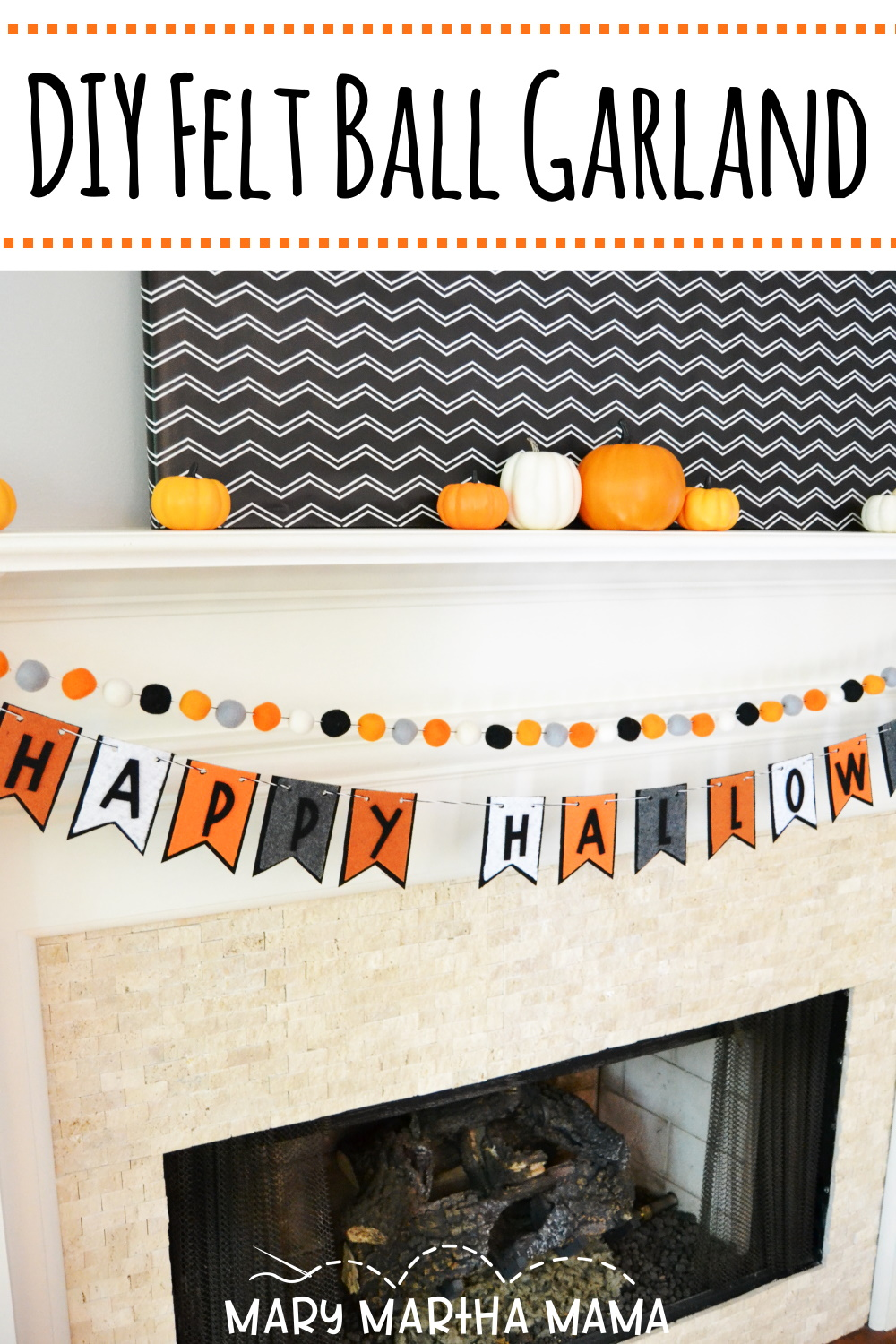 Make your own DIY Felt Ball Garland following this super simple tutorial with tips and information about where to source the felt wool balls.
